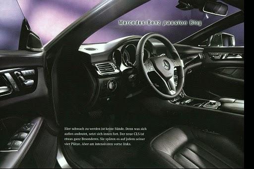 Mercedes CLS 2012 фото - водительское место