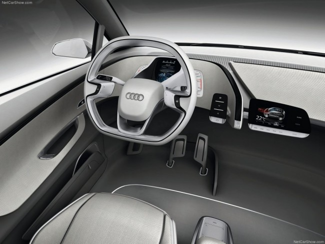 Audi A2 Concept фото водительского кресла
