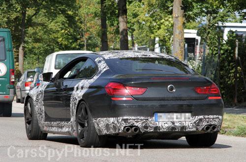 BMW M6 2012 бампер и задние фонари