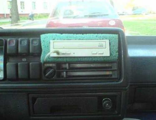 CD в машину своими руками