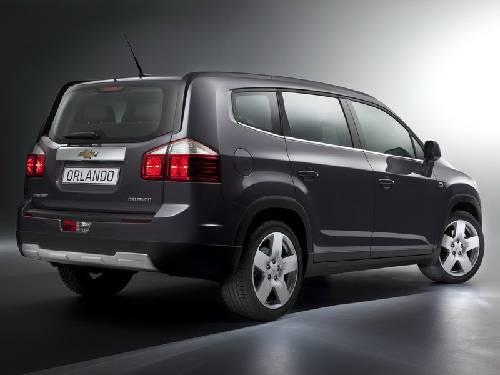 Chevrolet Orlando задние фонари