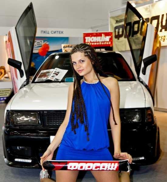 Девушки и авто - Интеравто - 1