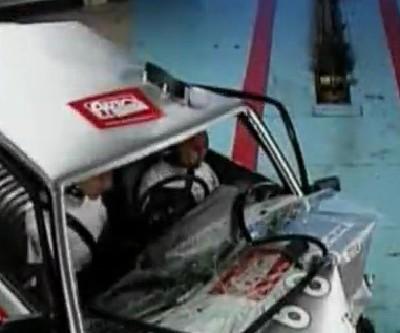 Ужасный краш-тест ВАЗ-2114 видео