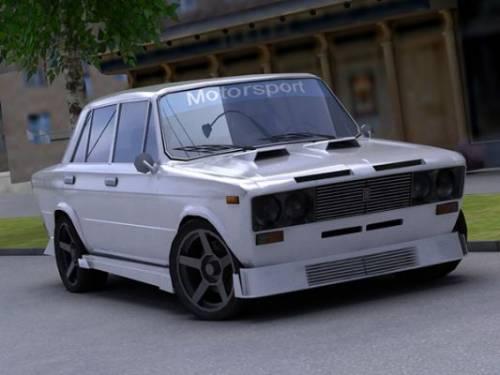 Красивый и недогой тюнинг ВАЗ 2106