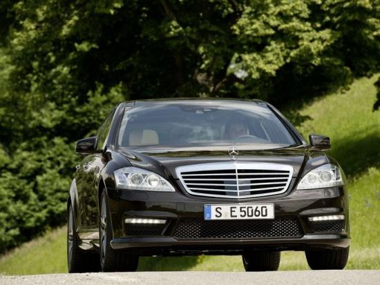 Mercedes S 300 уже в России