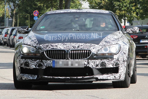 Новый BMW M6 2012 фото