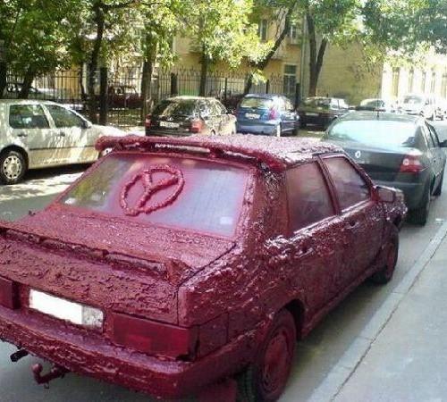 Облейка машины