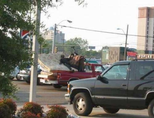 Перевозка грузов в пикапе