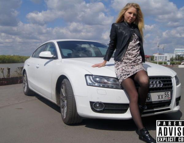 Русские девушки и авто - фото 10