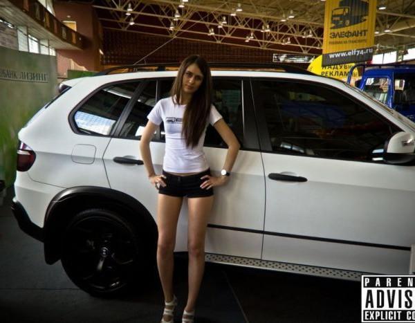Русские девушки и авто - фото 13