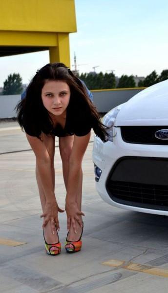 Русские девушки и авто - фото 7