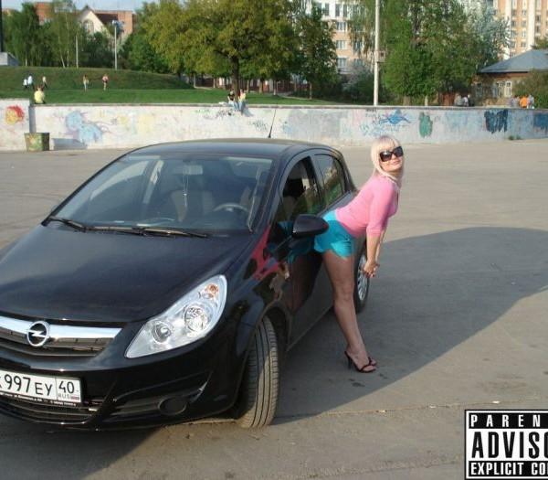 Русские девушки и авто - фото 8