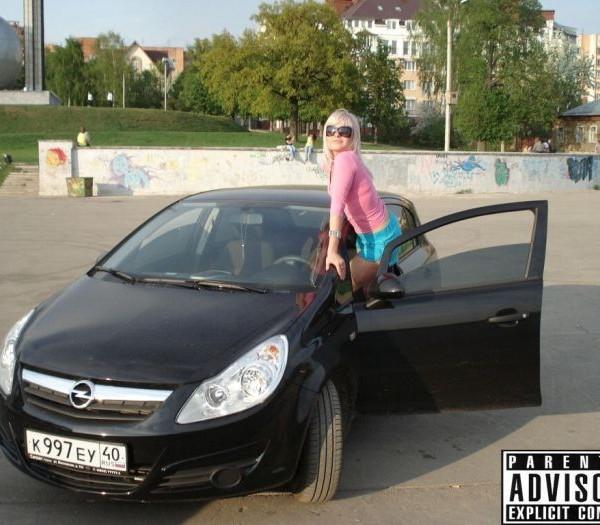 Русские девушки и авто - фото 9