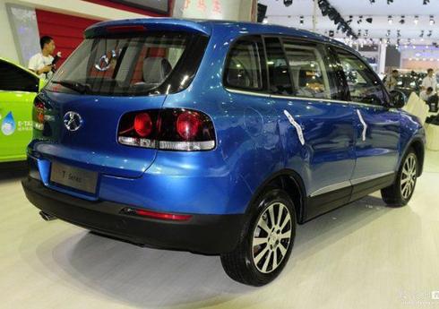T-SUV похож на Volkswagen Tiguan