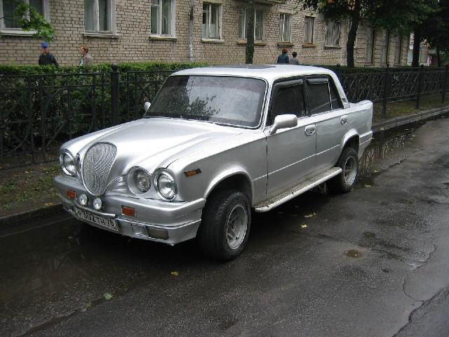 ВАЗ 2106 тюнинг морды