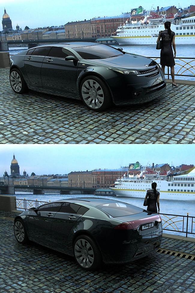 фото Волга ГАЗ 5000 GL