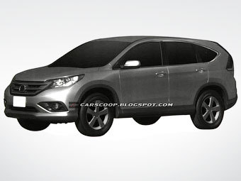 new Honda CR-V 2012