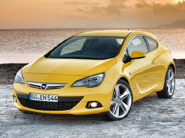 новый Opel Astra GTC 2012