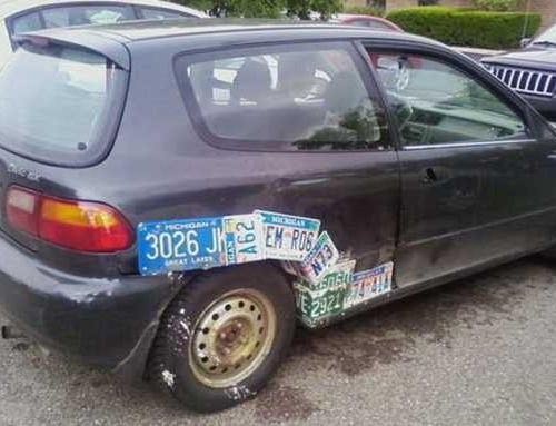 обклейка авто