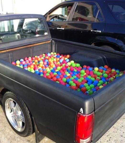 шарики в авто