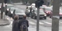 Дорожное хулиганство (видео)