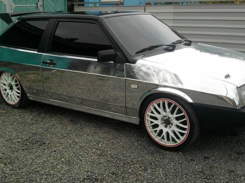 Тюнинг авто у фотошопе