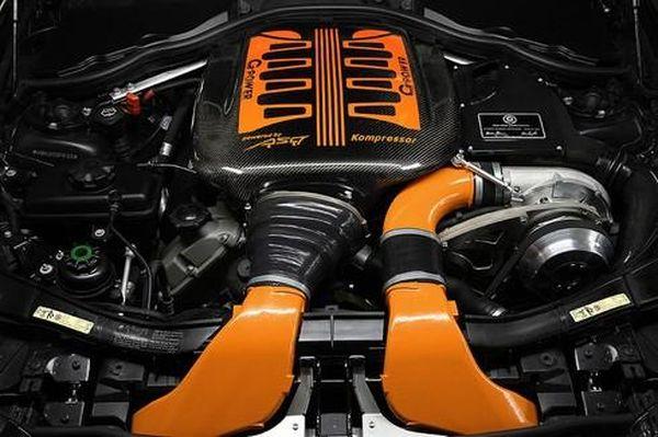 BMW M3 GTS двигатель