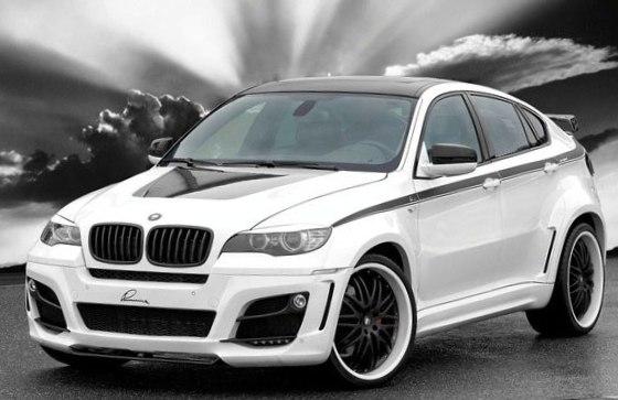 BMW X6 M - первой место