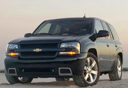 Chevrolet TrailBlazer SS - 10 место