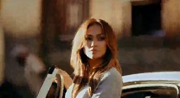 Дженнифер Лопез в рекламе Fiat 500 Cabrio