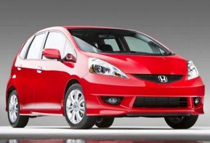 Серийный электромобиль Honda Fit 2012