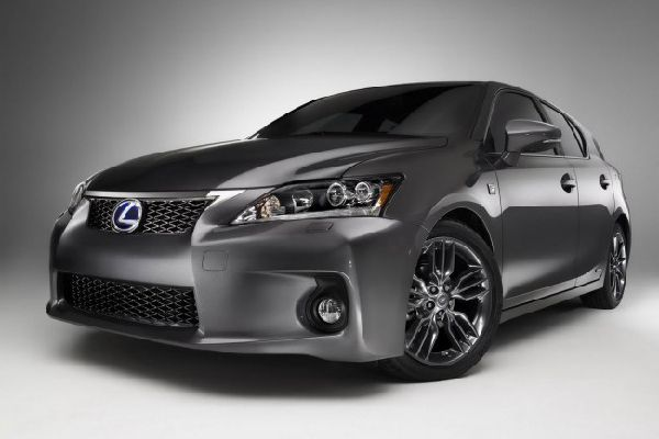 Фото Lexus CT 200h F-Sport Special Edition 2012 года