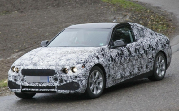 Фото нового купе BMW 4-Series