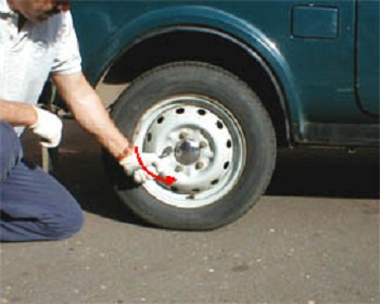 Инструкция по замене колеса