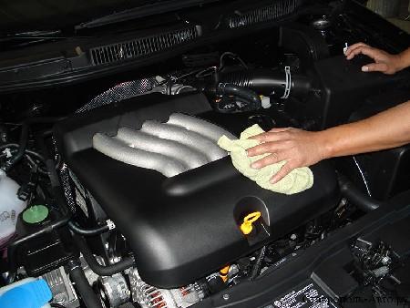 как правильно помыть двигатель на киа рио