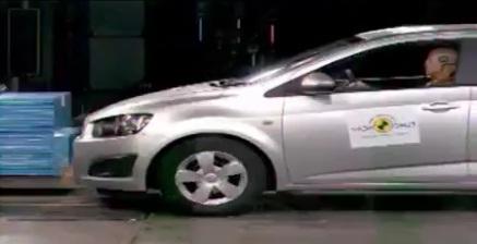 краш-тест нового Chevrolet Aveo 2012 года