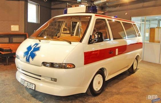 Микроавтобус РАФ