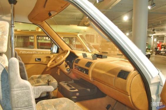 Салон микроавтобуса РАФ