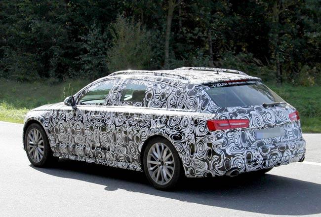 Новая Audi A6 Avant Allroad 2012