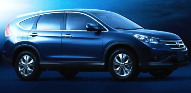 Новая Honda CR-V 2012 года