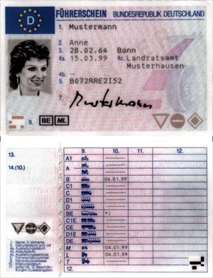 Новые права 2012
