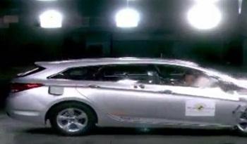 Новый Hyundai i40 2012 краш-тест