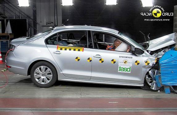 Новый Volkswagen Jetta 2012 видео краш-теста