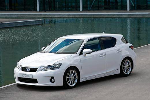 Самый экологичный автомобиль - Lexus CT200h