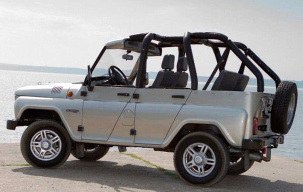 Новый УАЗ Hunter - «Пляж»