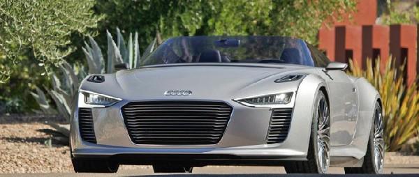 фото Audi e-tron Spyder