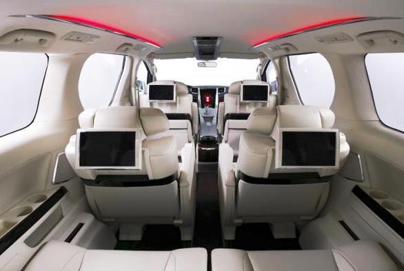 мультимедийная система для задних пассажиров Тойота Альфард