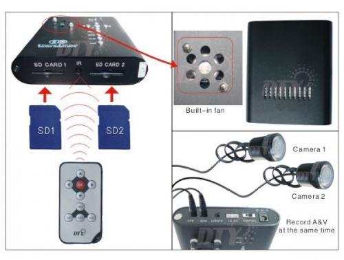 Carkam AR-2D — автомобильный видеорегистратор скрытой установки