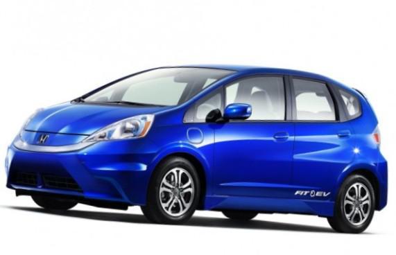 Электрическая Honda Fit EV