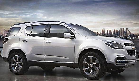 Фото нового Chevrolet TrailBlazer 2012